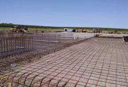 Fertilizer Facility Contsruction Begins