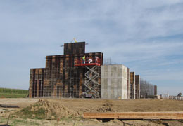 Fertilizer Facility Construction Progress
