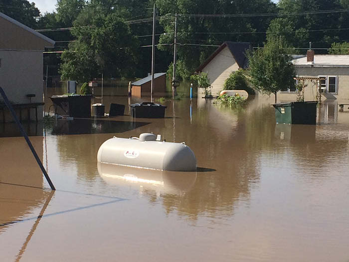 Propane Safety and Floods- 10 Things to Keep your Family Safe